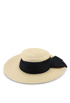 c6cd0df43dc46 Mango beige Contrast Ribbon Hat 11090ACBED1EA7GS 1