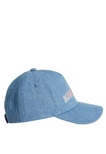 MANGO KIDS blue Denim Cap With Message FCB2FKC66FF2D6GS_1