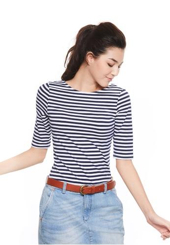 ba9d6d7d62f6d7 Buy United Colors of Benetton Striped T-shirt | ZALORA HK