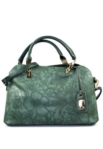 Kimbel International green Handbag with Sling 58663AC10A63CEGS_1
