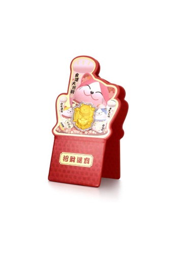 CHOW TAI FOOK Jewellery gold CHOW TAI FOOK 999.9 Pure Gold Coin - Fortune Cat R22411 04072AC7C8007BGS_1