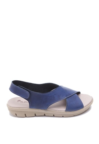 Dr. Kevin blue Dr. Kevin Women Flat Sandals 26118 - Blue DR982SH42AXHID_1