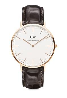 Classic York Rose Gold Watch
