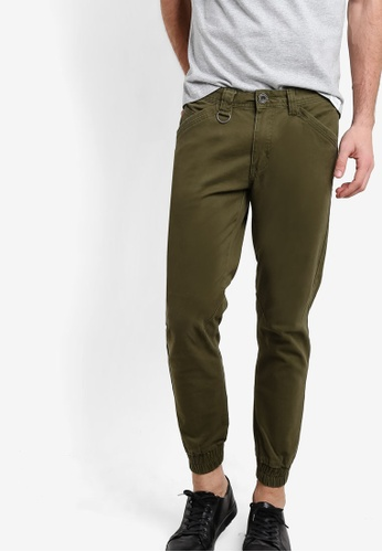 SPARROW GREEN green Das Jogger Pants SP065AA83BFOMY_1