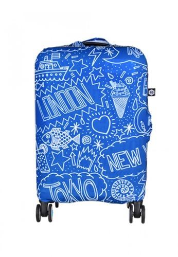 BG Berlin blue 007 Luggage Cover Small 74AC5AC27AD5A1GS_1