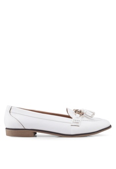 2ed5545bde5 Dorothy Perkins white White Lily Loafers 3F208SH685FAA6GS 1
