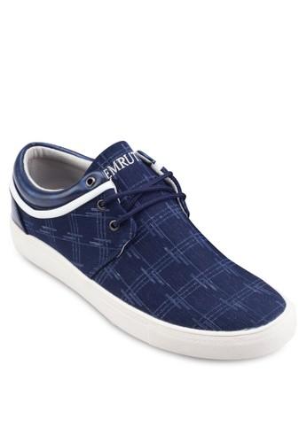 印花繫帶休閒鞋,esprit outlet 台中 鞋, 鞋