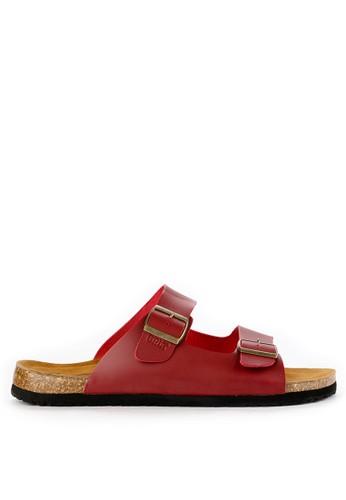 GREENLIGHT red Men Slippers 1211 89E0CSHC4C0D27GS_1