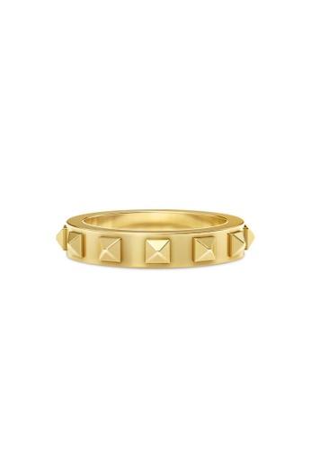 Aquae Jewels yellow Ring Rich & Bold Peaks – 18K Gold - Yellow Gold E70D9AC050E97BGS_1