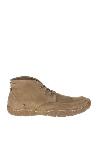 Hush Puppies beige Finnian Sway Boots HU326SH0K7KKPH_1