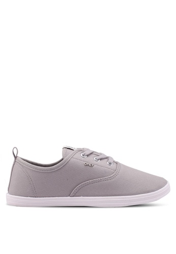 ONLY 灰色 Seline Satin Sneakers FA92ESH5973AE0GS_1