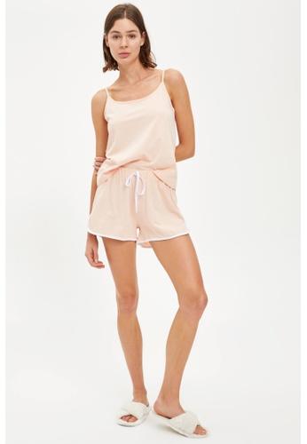 DeFacto pink Woman Homewear Knitted Bottoms 2275BAAC27FC28GS_1