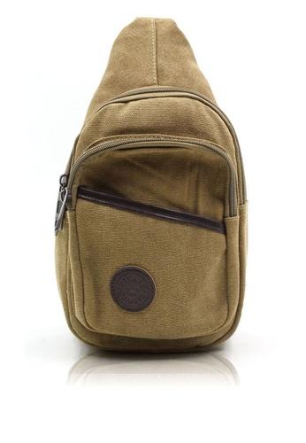 Attraxion Men's and Accessories brown Attraxion Adrian – 656 Crossbody Bag for Men 2BB78ACA13CB5DGS_1