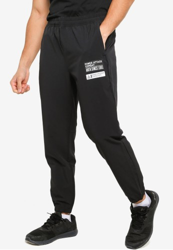 Anta black Boxing Ankle Pants 38EB9AAB78A515GS_1