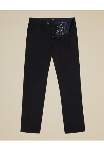 TED BAKER black Slim Fit Plain Chino AA28EAA967C127GS_1