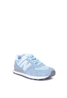 00018440cd 30% OFF New Balance 574 Classic Suede Mesh Lifestyle Sneakers Php 3