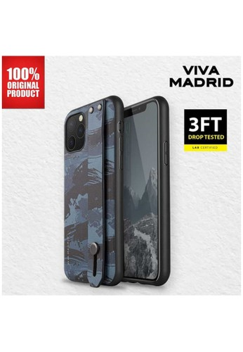 Viva Madrid blue Casing iPhone 11 Pro Camou Stand Case Viva Madrid - Blue 0561BES6917E89GS_1