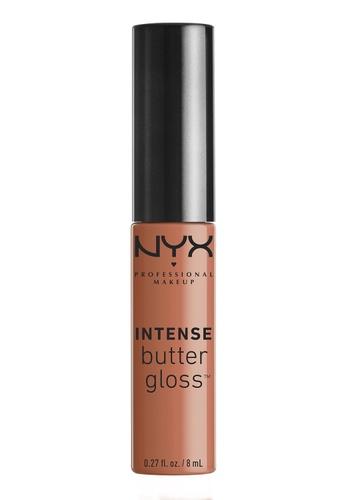 NYX Professional MakeUp beige Intense Butter Lip Gloss - Apple Dumpling FEC71BE2A930AEGS_1
