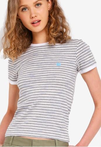 Jual Jack Wills Trinkey Stripe Ringer T Shirt Original