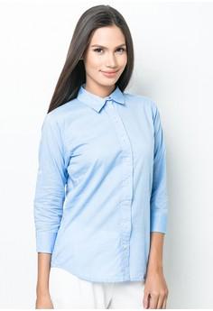 Giana Quarter Sleeves Top
