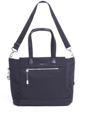 Hedgren Black Glaze L Tote Bag D5243ac0fffd4ags 1