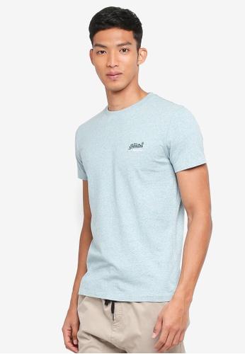 Superdry 綠色 短袖刺繡T恤 3DBE9AA4001E5AGS_1