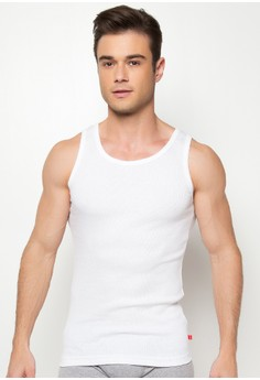 Ribbed Colored Tank Top