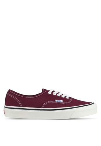 VANS red Authentic 44 DX Anaheim Factory Sneakers VA142SH0SWR3MY_1