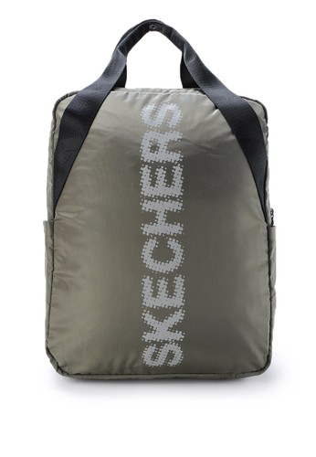 Skechers green Griffin Backpack 6E719AC3F04A47GS_1
