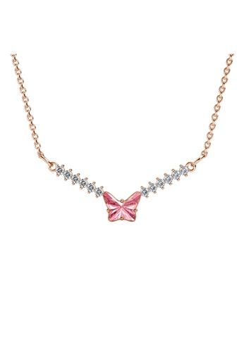 Her Jewellery Ven Butterfly Pendant (Rose Gold) 79C4AACE050ACCGS_1
