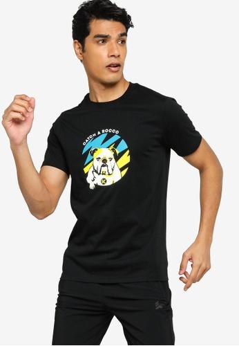 Anta 黑色 Wildwater 短袖T恤 F2881AA2ADD5DBGS_1