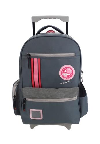 Swan grey Swan Kid Children School Bag Comfort Roll (Grey) Spinal Protection Back Support  Swan Roll 75125KC3BCA167GS_1