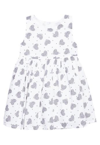 Spring Fling white Hearts Sleeveless Dress CC193KA8419184GS_1