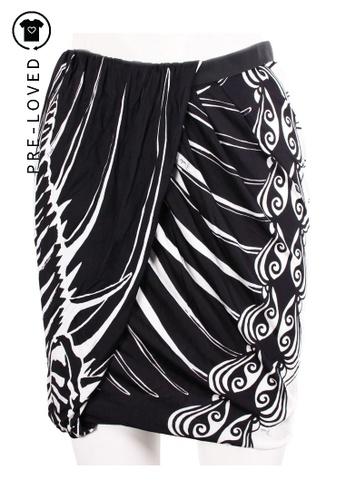 Emilio Pucci multi Pre-Loved emilio pucci Printed Draped Skirt 97F39AA9A29EF3GS_1