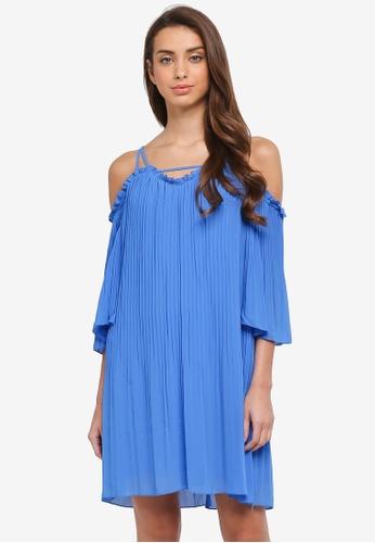 River Island blue Slip Dress 7197AAA9B679C0GS_1