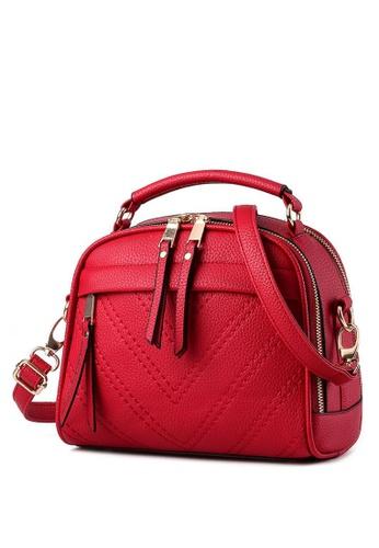 TCWK red Ladies Sling Bag TC258AC91XEQMY_1