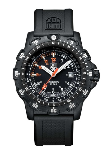 Luminox black Luminox Recon Point Man White and Black Rubber Watch 7598EAC72AAAD0GS_1