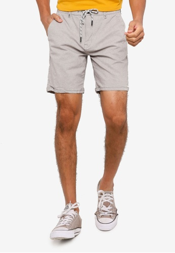 Springfield grey Woho Comfort Bermuda Shorts 491A8AA7CEB813GS_1