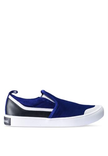 Calvin Klein blue Dacio Slip Ons 6D078SH4B67423GS_1