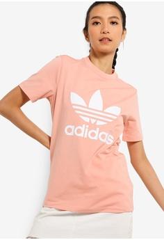 78183fe2e adidas pink adidas originals trefoil tee C7339AA6C22583GS 1