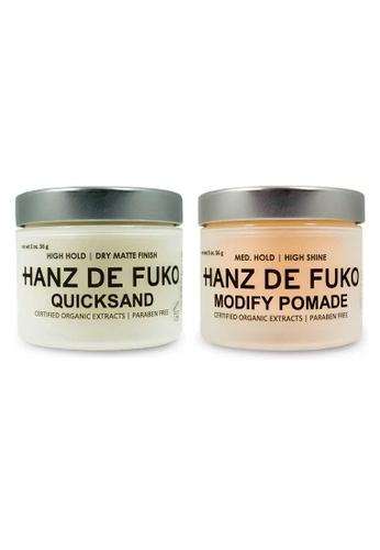 Hanz de Fuko Hanz de Fuko Quicksand and Modify Pomade Set HA369BE02NKFSG_1