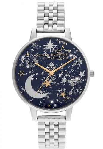 Olivia Burton silver Olivia Burton Celestial SILVER Women's Watch (OB16GD64) CF69EACB577087GS_1