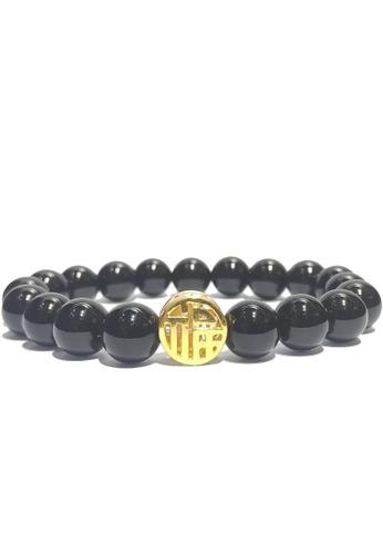 LITZ black and gold [SPECIAL] LITZ 999 (24K) Gold Blessing Charm EPC0175-B-B DBC83AC11AD5FCGS_1