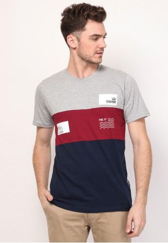 17seven Original grey Tshirt 0114-BOXWHT 03AA9AA221040EGS_1