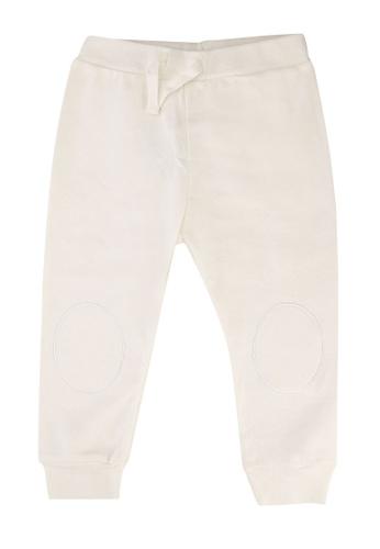 FOX Kids & Baby white Newborn Drawstring Knit Pants 863C0KA6945CDCGS_1