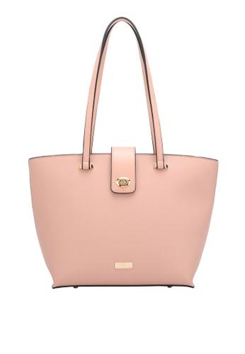 PLAYBOY BUNNY pink Twist Lock Tote Bag 3F808ACB457DCEGS_1