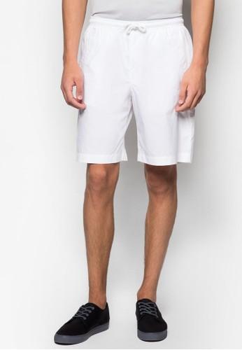 AAA 簡約抽繩休閒短褲、 服飾、 短褲TopmanAAA簡約抽繩休閒短褲最新折價