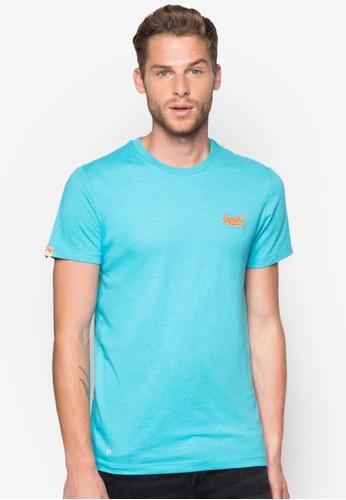 經典品牌標誌圓領TEE, 服esprit門市地址飾, 素色T恤