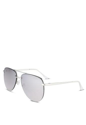 Quay Australia silver THE PLAYA Sunglasses 3466DGL3096681GS_1