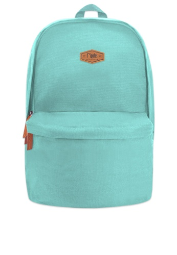 Ripples green Sienna Basic Canvas Backpack 48E6BAC2C0ECFAGS_1